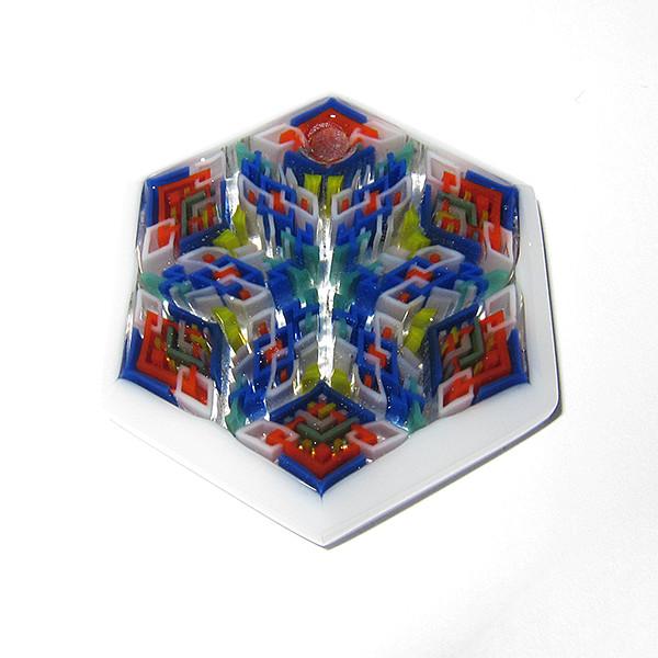Daisuke Takeuchi - White Hexagon Pendant (2014)