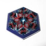 Daisuke Takeuchi - Purple Hexagon Pendant (2014)