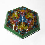 Daisuke Takeuchi - Green Hexagon Pendant (2014)