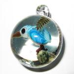 Etsuko Inazawa - Blue Bird Pendant