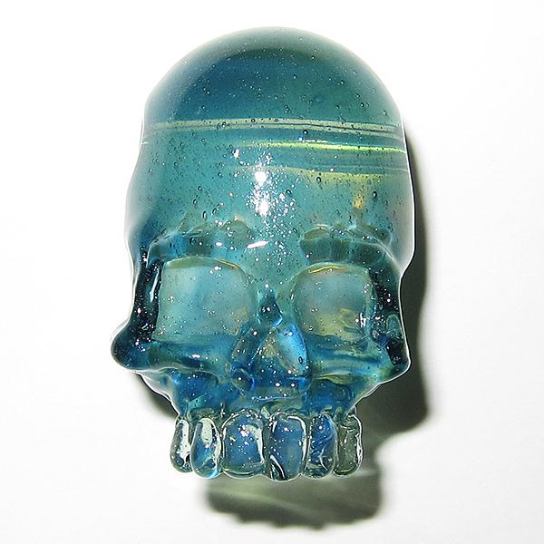 Akihisa Izumi / AKIO - Blue Slyme Skull Pendant (2014)