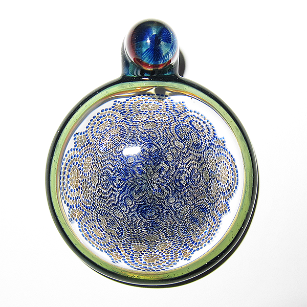 Junichi Kojima / Rose Roads - Blue UV Pendant (2014)