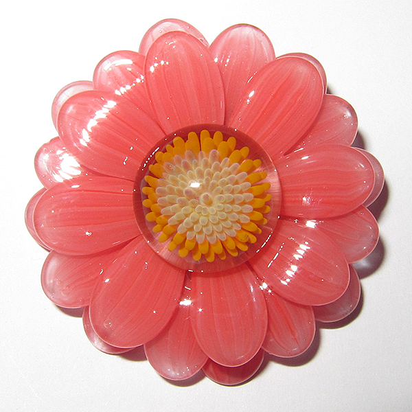 Maki Kawabe - Peach Flower Pendant (2014)