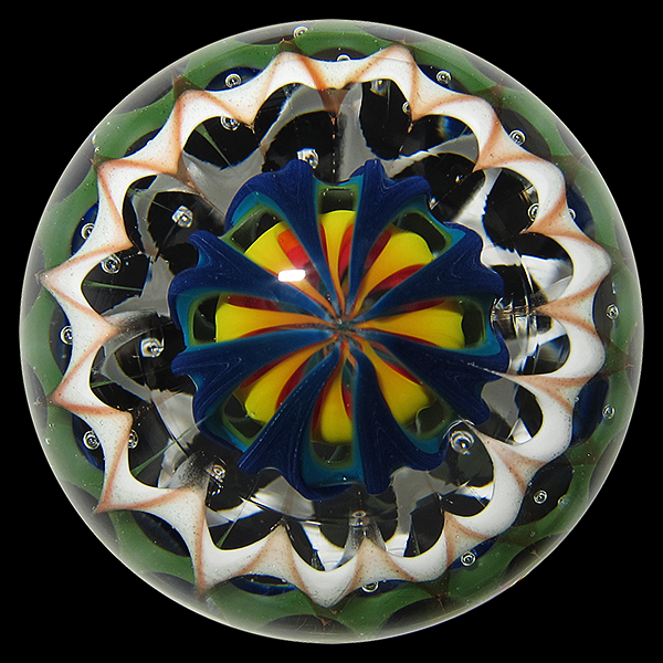Masashi Soutome x Lucas Mahoney marble – Rainbow Lines (2014)