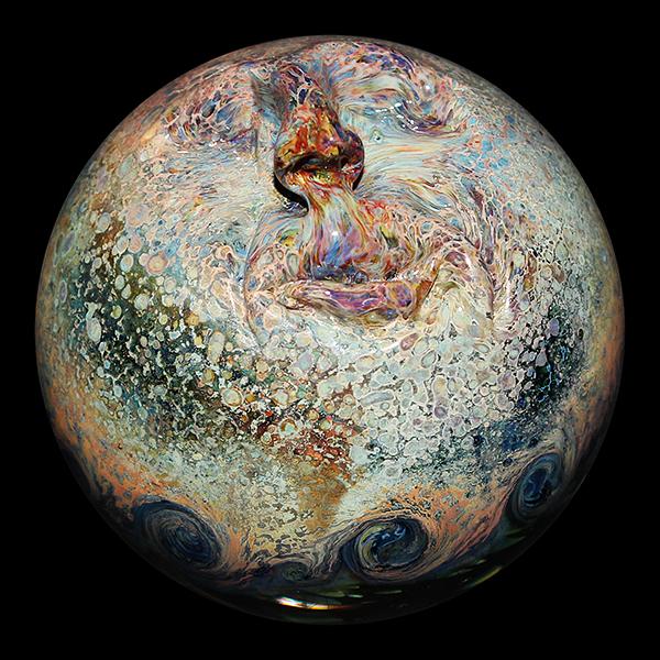 Takao Miyake marble – The Rings (2014)