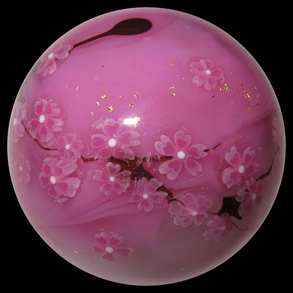 Akihiro Okama marble – Cherry Blossoms