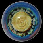 Richard Hollingshead II marble - Alien Tech Spiral