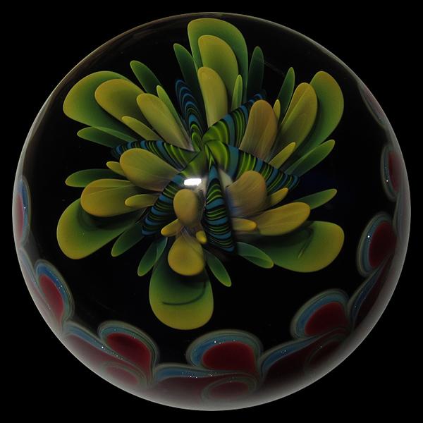 Richard Hollingshead II marble – Fume and Cane Implosion
