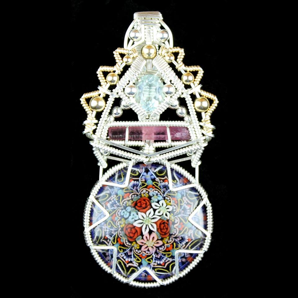 "Tomomi Handa x Jason Burruss - The ""Efflorescence"" Pendant"
