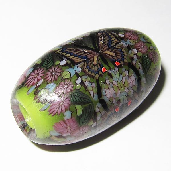 Daisuke Takeuchi - Green Butterfly Bead (2014)