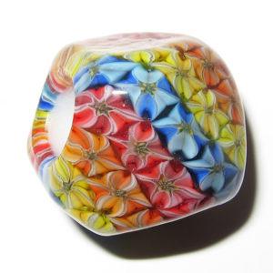 Daisuke Takeuchi bead - Flower Rainbow (2014)