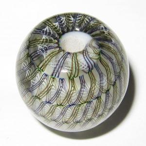 Daisuke Takeuchi bead - Latticino (2014)