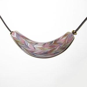 Daisuke Takeuchi bead - Feather Focal Bead (2014)