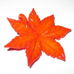 Maki Kawabe - Autumn Leaf Pendant