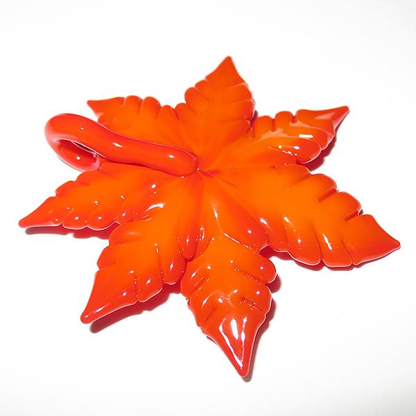Maki Kawabe – Autumn Leaf Pendant