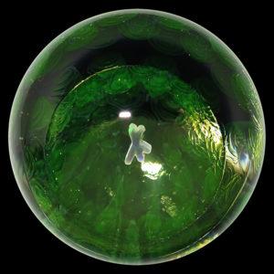 """Yoshinori Kondo marble - """"NUC"""" (2015)"""