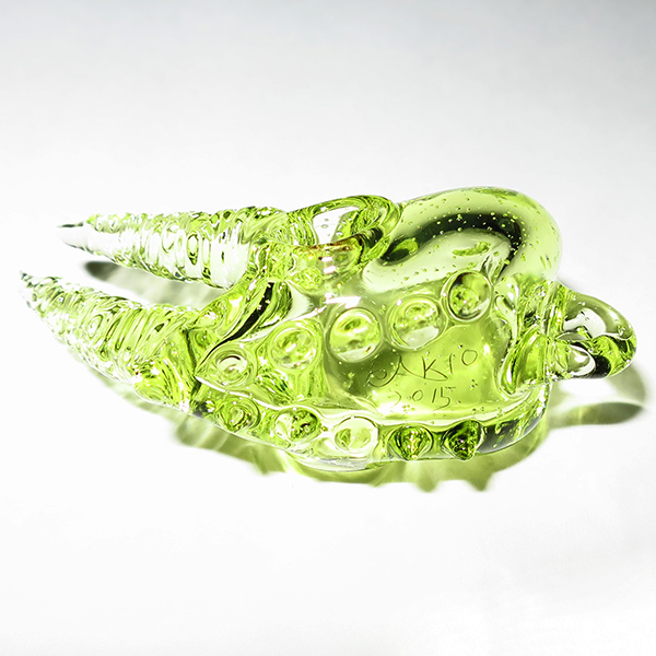 Akihisa Izumi / Akio – Mini Jackson's Chameleon Skull Pendant (2015)