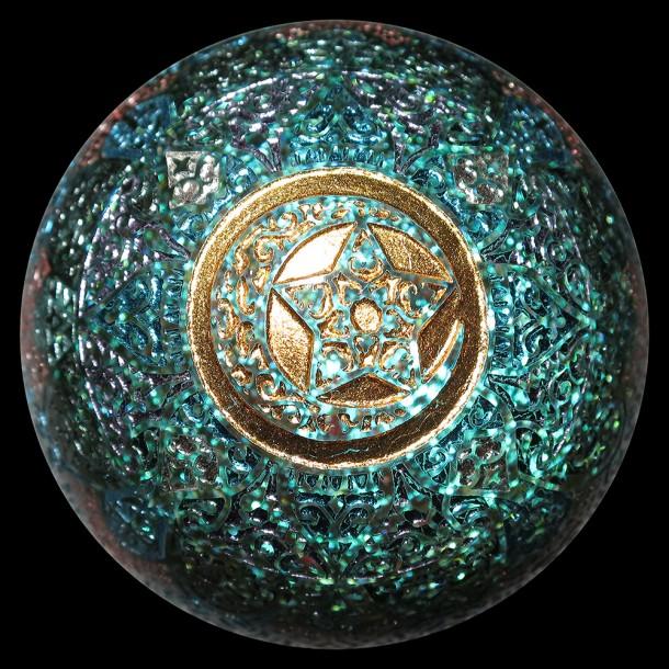 Masataka Joei marble / Caspol Glass marble (2015)
