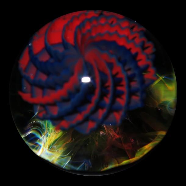 Yoshio Omura glass marble