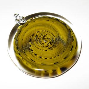 Yoshio Omura glass pendant