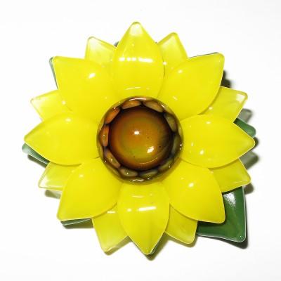 Maki Kawabe - Sunflower Pendant (2016)
