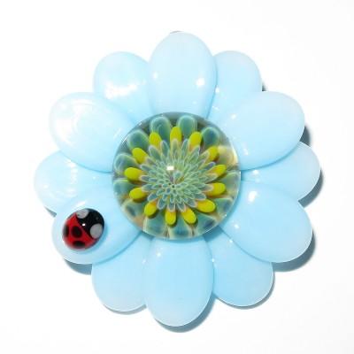 Maki Kawabe - Flower Pendant (2016)