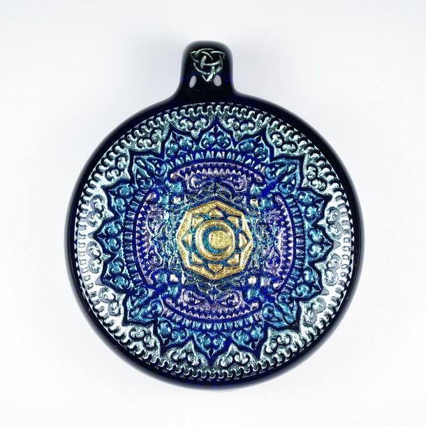Masataka Joei mandala pendant / Caspol Glass mandala pendant (2016)