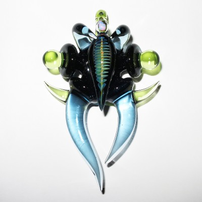 Akatsuki Glass Movement - Kiba Kiba pendant (2016)