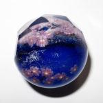 Akihiro Okama glass - Cherry Blossoms / Sakura marble (2016)