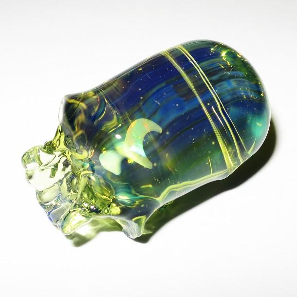 Akihisa Izumi / Akio glass – Skull pendant (2015)