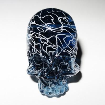 Akihisa Izumi / Akio glass - Skull pendant (2015)